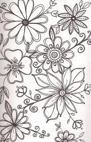 flower designs to draw 1000 ideas about flower design