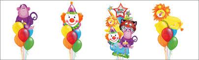 circus balloon balloons and themed props