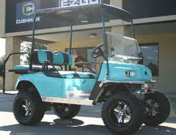 black and turquoise jeep ez go lifted turquoise black 36 volt electric golf cart