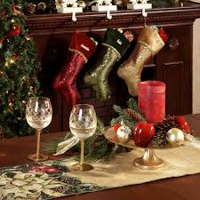 Christmas Stocking Decorations With Glitter by Glitter Swirl Christmas Stockings