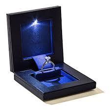 engagement ring boxes that light up amazon com parker square secret night box light up led the world s