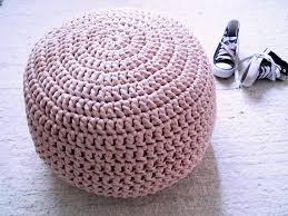 pink pouf ottoman kreyol essence