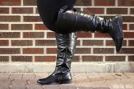 wide width motorcycle boots wide calf boots lookbook plus size fashion sarah rae vargas