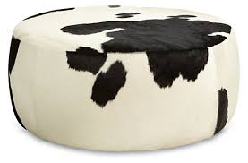Lind Ottoman Lind Cowhide Ottomans Ottoman Ottomans And