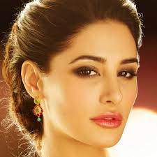 d damas gold earrings nargis fakhri in indian bridal jewelry by d damas jewellery