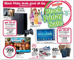 black friday 2013 the thanksgiving and black friday meijer ads