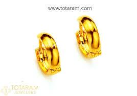 baby gold earrings baby earrings in gold gold earrings for kids small hoop earrings