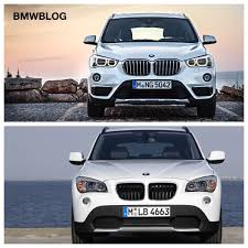 2016 bmw x1 pictures photo e84 bmw x1 vs 2016 bmw x1 f48 photo comparison