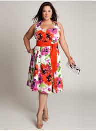 plus size vintage floral cotton dress strut curvaceous fashion