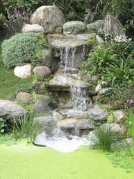 Backyard Waterfall Ideas by Top 25 Best Water Features Ideas On Pinterest Garden Water