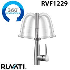 Kitchen Faucet Head Ruvati Rvf1229k1st Pullout Spray Kitchen Faucet With Soap