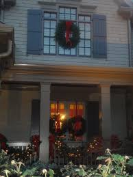 window wreaths with lights small artificial