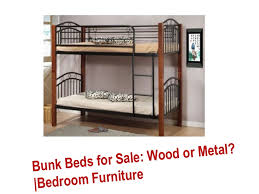 bunk beds for sale wood or metal bedroom furniture