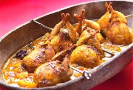 cuisiner caille caille à l indienne chutney betterave abricot et tomate recette