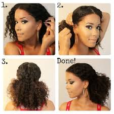 Transitioning Protective Styles - 8 quick u0026 easy hairstyles on medium short natural hair