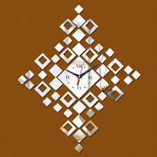 Large Mirrored Wall Clock Compare Prices On Large Mirrored Wall Clock Online Shopping Buy