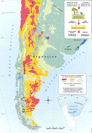 Patagonia South America Map Conservacion Patagonica Overgrazing And Desertification