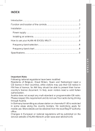 index midland alan 48 excel multi user manual page 11 74