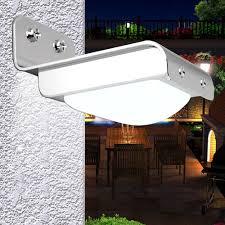 Solar Security Motion Sensor Light by Ktaxon 16 Led Solar Powered Pir Motion Sensor Garden Security