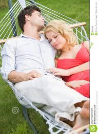 couple sleeping in hammock stock photos image 5935583