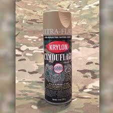 sand krylon camoflage spray paint