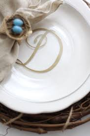 monogrammed dishes easy diy monogrammed plates rizzo