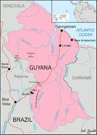 Guyana Map Maps Of Guyana Map Library Maps Of The World