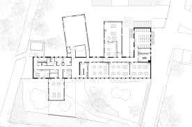 Nursery Floor Plans Graal Architecture Creates Nursery From Corrugated Metal Cabins