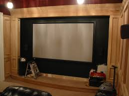 awesome home theater screen wall design contemporary interior
