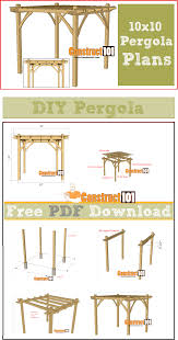 12 pergola building tips diy pergola pergolas and outdoor projects