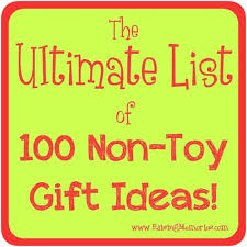 raising memories the ultimate list of 100 non gift ideas