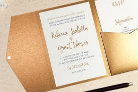wedding invitation calligraphy calligraphy wedding invitation in antique gold pocketfold wallet