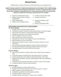 Sample Resume Call Center Agent No Work Experience by Call Center Resume Sample Without Experience With Customer Service