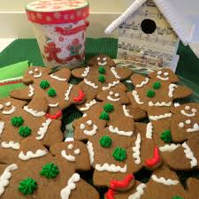 Thick and Chewy Gingerbread People Cookies