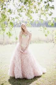 Whimsical Wedding Dress Strapless Sweetheart Beaded Champagne Colored Whimsical Wedding