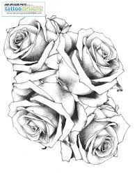 download rose tattoo outline danielhuscroft com