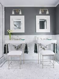White And Gray Bathroom by White And Gray Bathroom Transitional Bathroom Brown Design