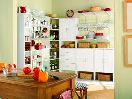 creative ideas for kitchen cabinets creative storage ideas for cabinets hgtv