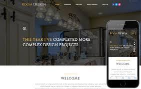 website to design a room interior furniture designs mobile website templates