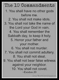 grace filled moments do the 10 commandments still matter