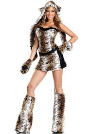 Fluffy Halloween Costumes Teasing Tiger Costume Dp1687 Price 160 99 Sizes