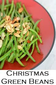 almond green beans easy delicious side dish for winter holidays