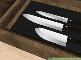 my kitchen knives 3 ways to care for your kitchen knives wikihow