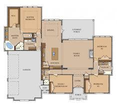 2602 sq ft u2013 llano jeff watson homes austin builder floor plan