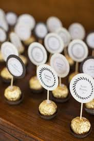wedding party favor best 25 diy place cards ideas on