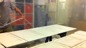 airless spray to paint kitchen cabinet doors white youtube spray