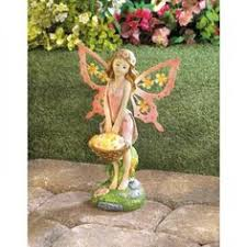 solar light statue outdoor garden decoration lawn ornament