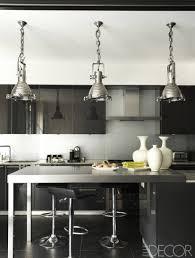 interesting black and white kitchen nice kitchen designing