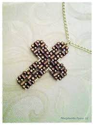 bead cross pendant necklace images 639 best vb did crosses images crosses pendants jpg