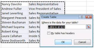 officetalk working with lists and tables vba samples part 1 of 2